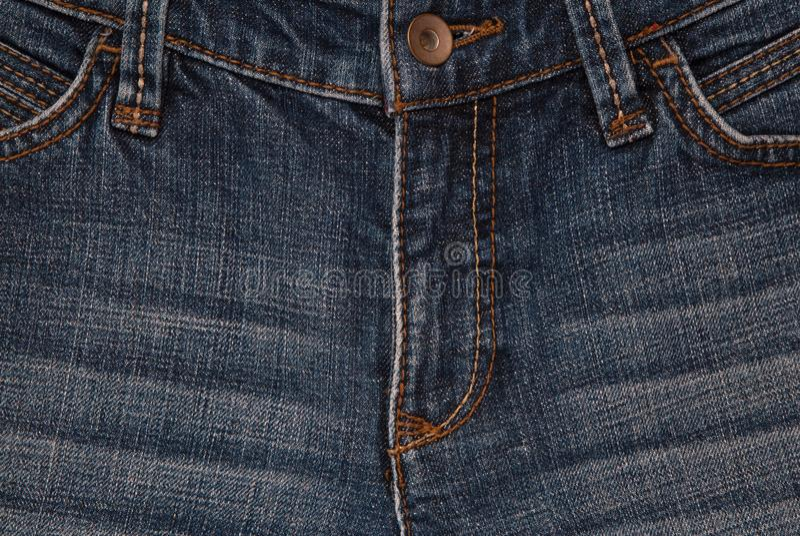 De achtergrond van het Horisontaldenim, denimtexturen, jeansbackgro stock foto's