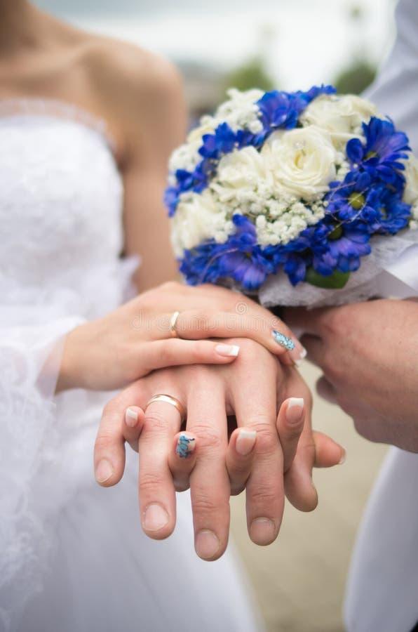 De achtergrond van het huwelijkspaar royalty-vrije stock foto