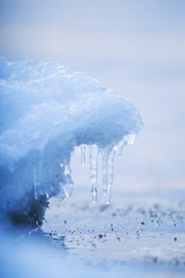 De achtergrond van het ijs royalty-vrije stock afbeeldingen