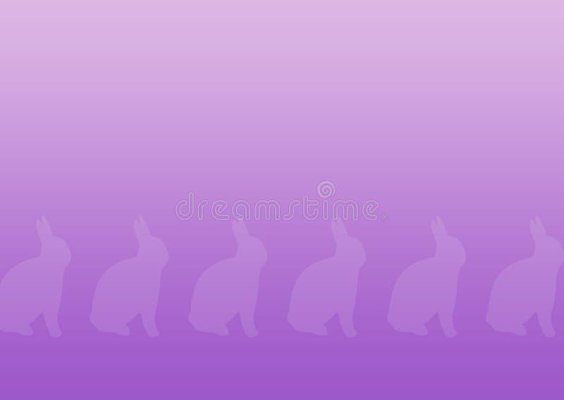 De Achtergrond van het konijntje stock illustratie