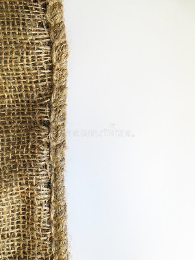 De achtergrond van het linnen stock afbeelding
