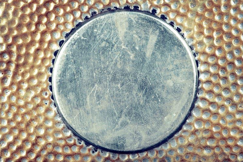De achtergrond van het metaal royalty-vrije stock afbeelding