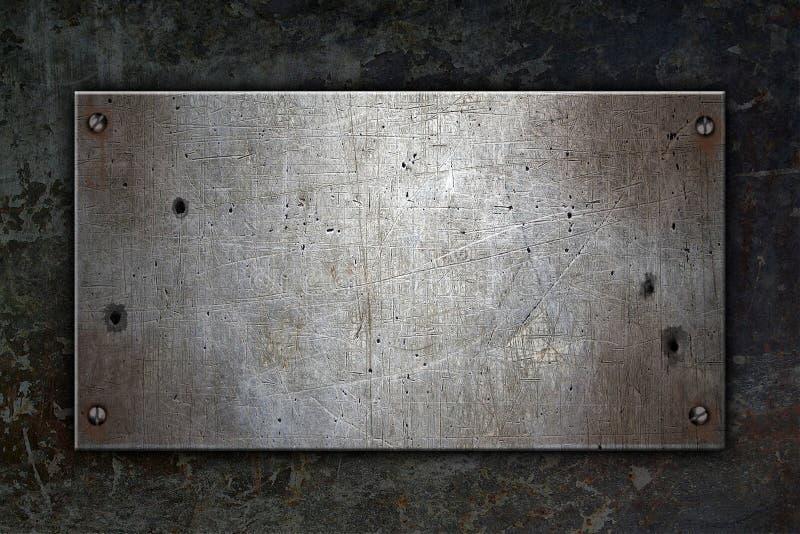 De achtergrond van het metaal stock fotografie