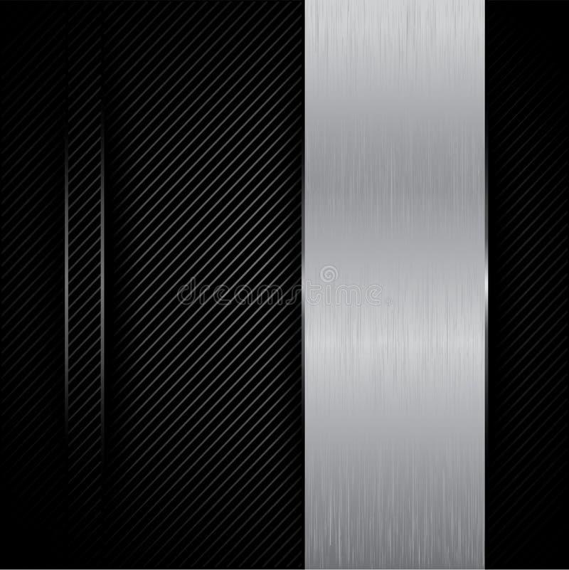 De achtergrond van het metaal stock foto's