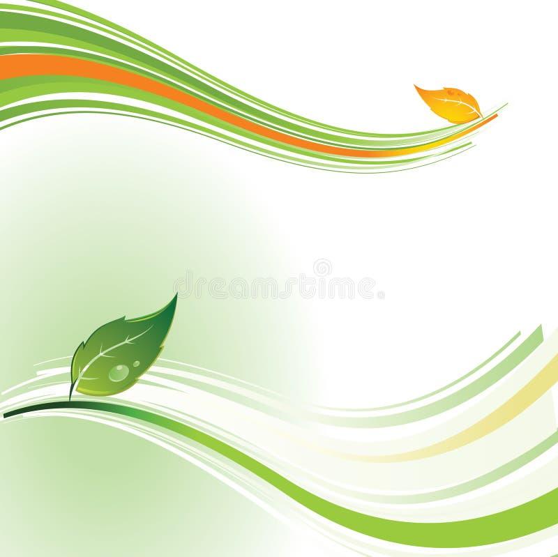 De achtergrond van het milieu vector illustratie