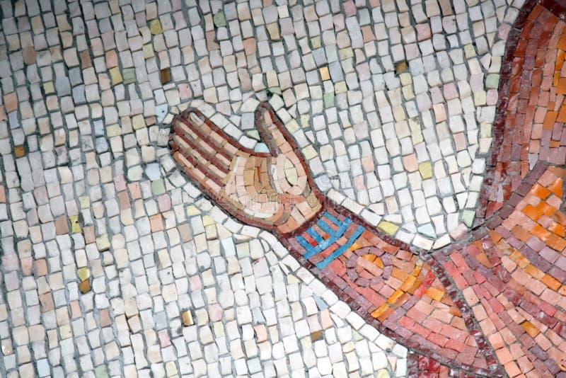 De achtergrond van het mozaïek stock afbeeldingen