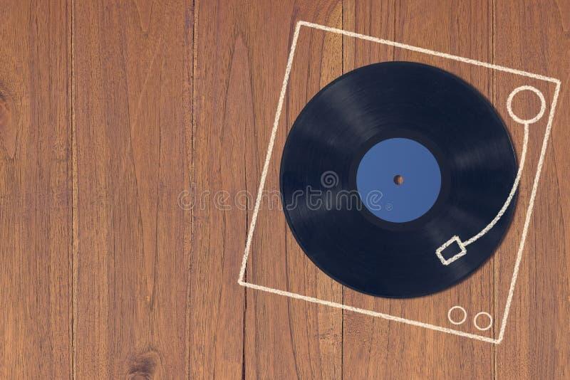De achtergrond van het muziekconcept stock fotografie