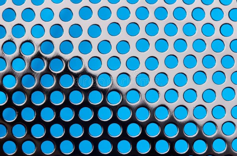 De achtergrond van het Net van het metaal stock foto