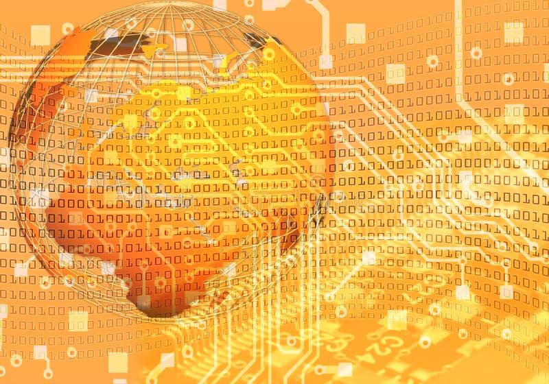 De achtergrond van het nieuwe technologieconcept royalty-vrije stock foto's