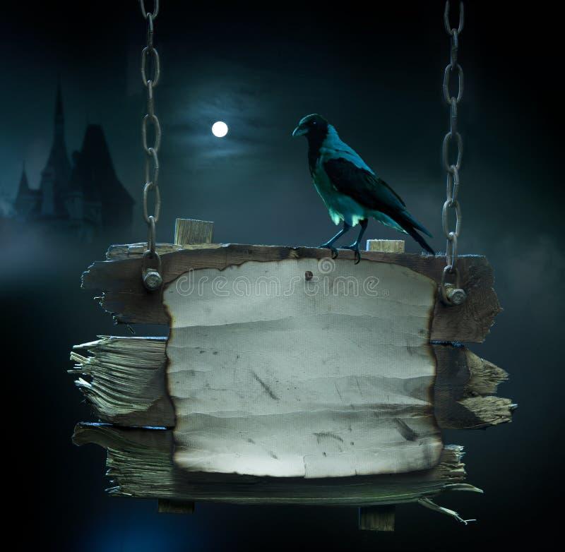 De achtergrond van het ontwerp voor de partij van Halloween vector illustratie