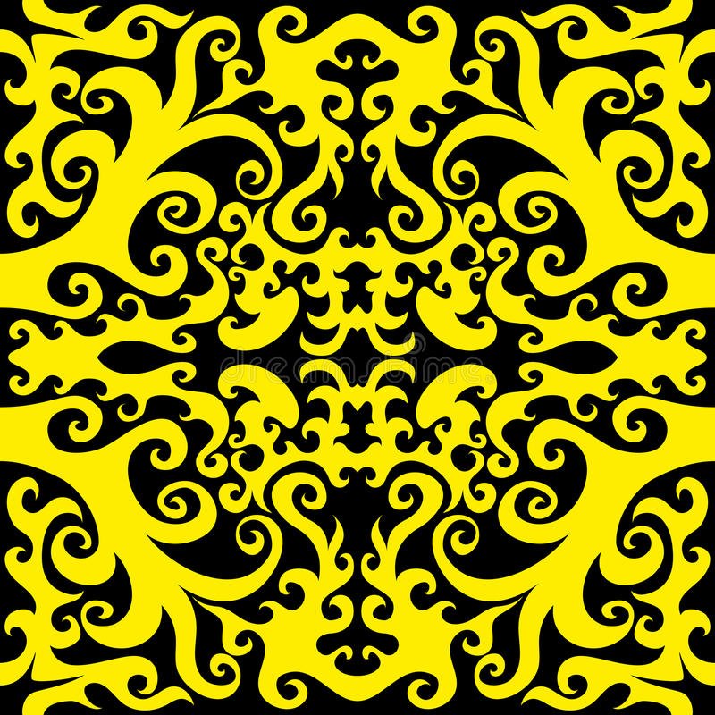 De achtergrond van het patroon stock illustratie
