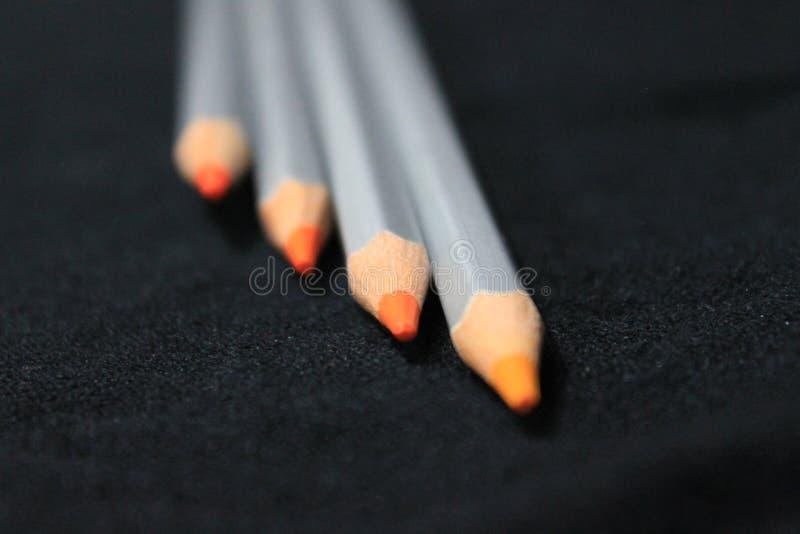 De achtergrond van het potlood stock afbeelding
