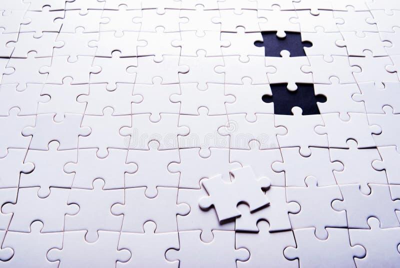 De achtergrond van het raadsel stock afbeelding