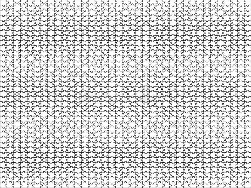 De Achtergrond van het raadsel stock illustratie