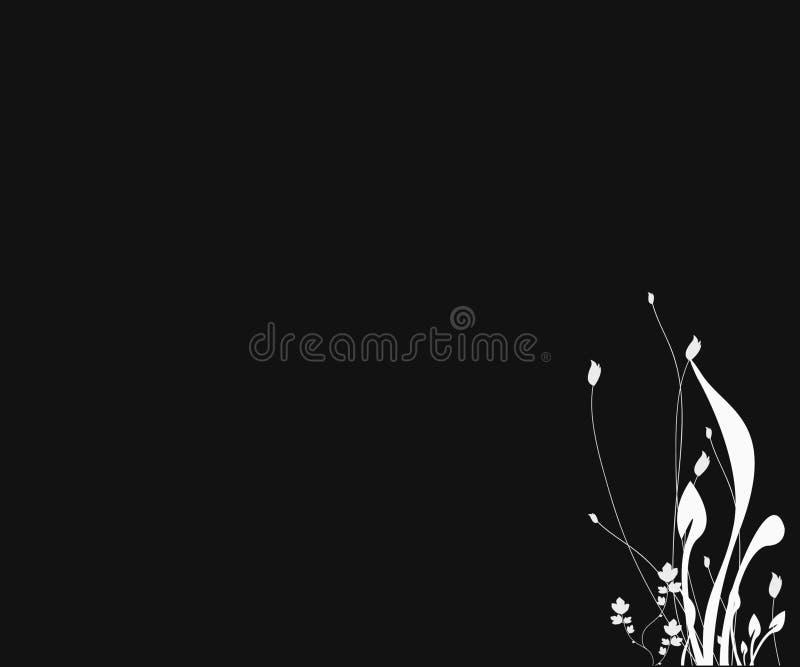 De Achtergrond van het Silhouet van de fantasie royalty-vrije illustratie