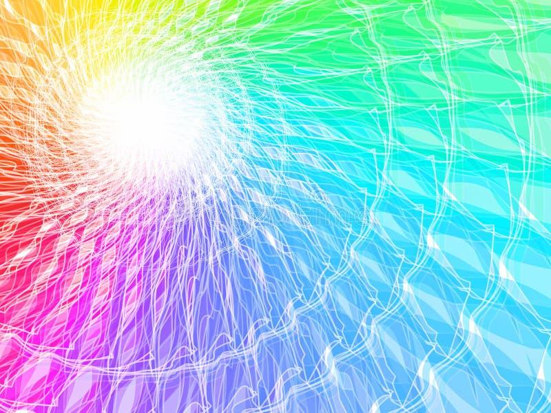 De achtergrond van het spectrum royalty-vrije illustratie