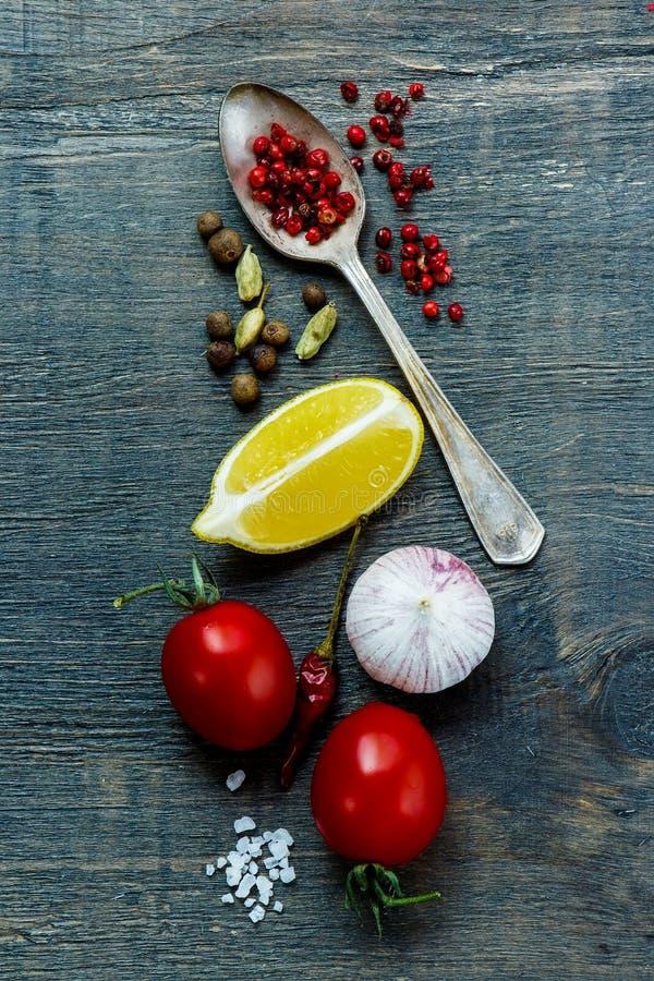 De achtergrond van het voedsel royalty-vrije stock foto