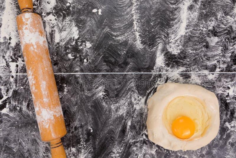 De achtergrond van het voedsel Het concept van het voedsel royalty-vrije stock afbeeldingen
