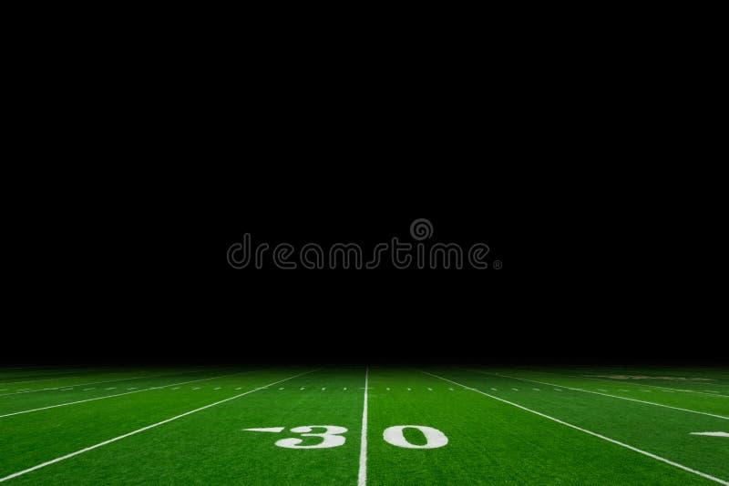 De achtergrond van het voetbalgebied stock afbeeldingen