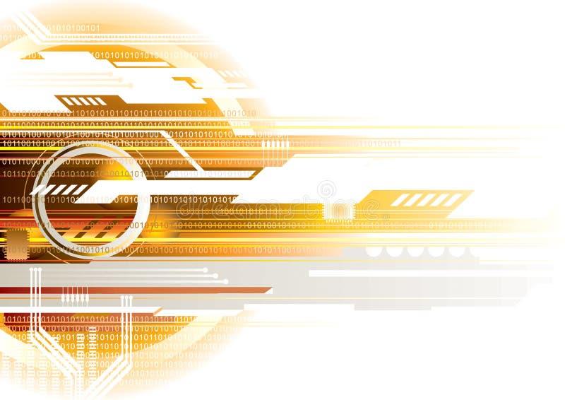De achtergrond van Internet vector illustratie