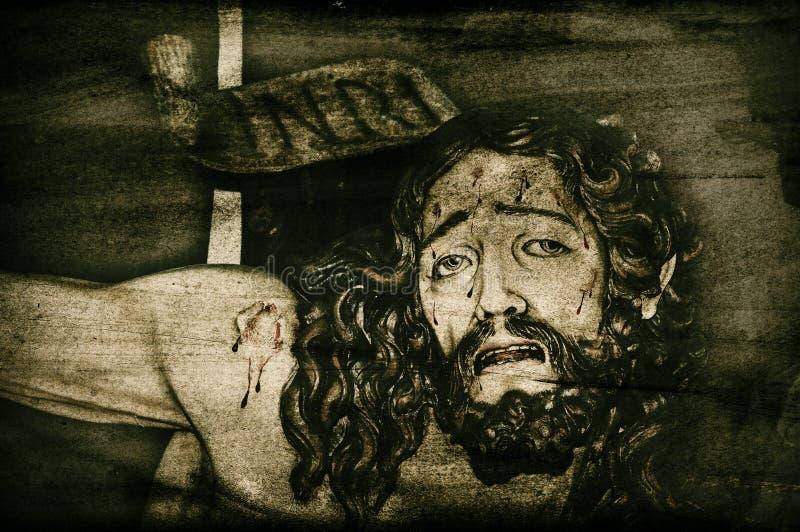 De achtergrond van Jesus-Christus stock foto's