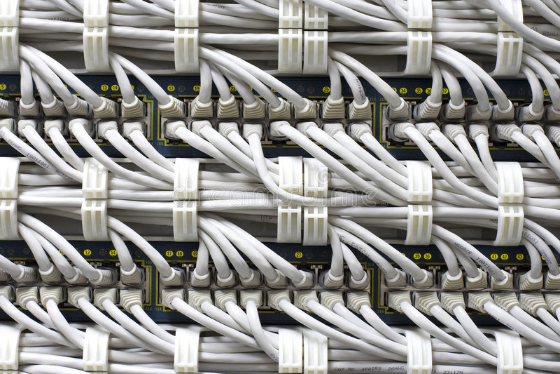 De achtergrond van kabels royalty-vrije stock afbeeldingen