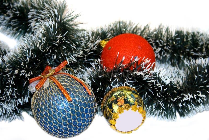 Download De Achtergrond Van Kerstmis Stock Foto - Afbeelding bestaande uit decor, slinger: 10779608