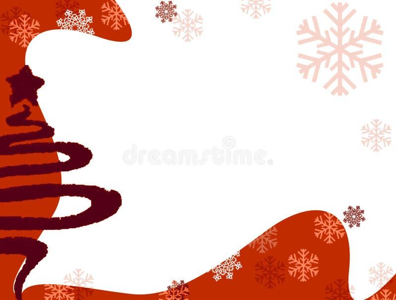 De achtergrond van Kerstmis vector illustratie