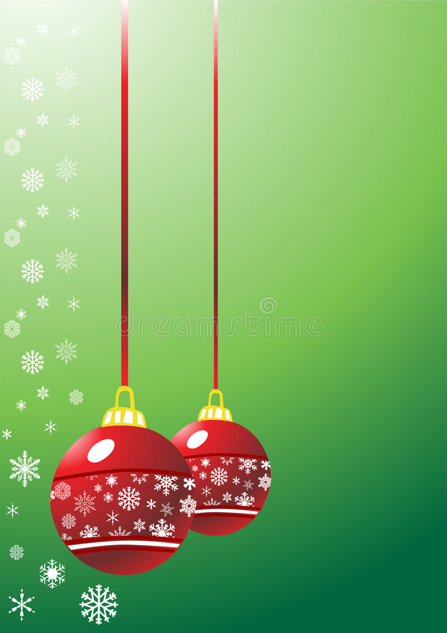 Kerstmisachtergrond vector illustratie
