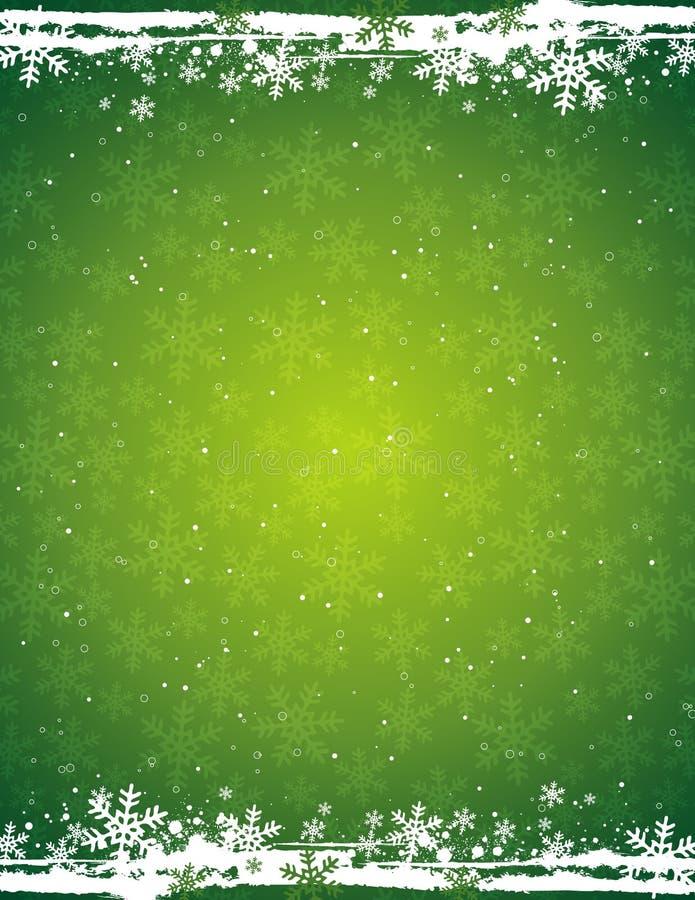 De achtergrond van Kerstmis, vector stock illustratie