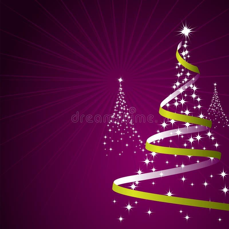 De Achtergrond van Kerstmis (Vector) royalty-vrije illustratie