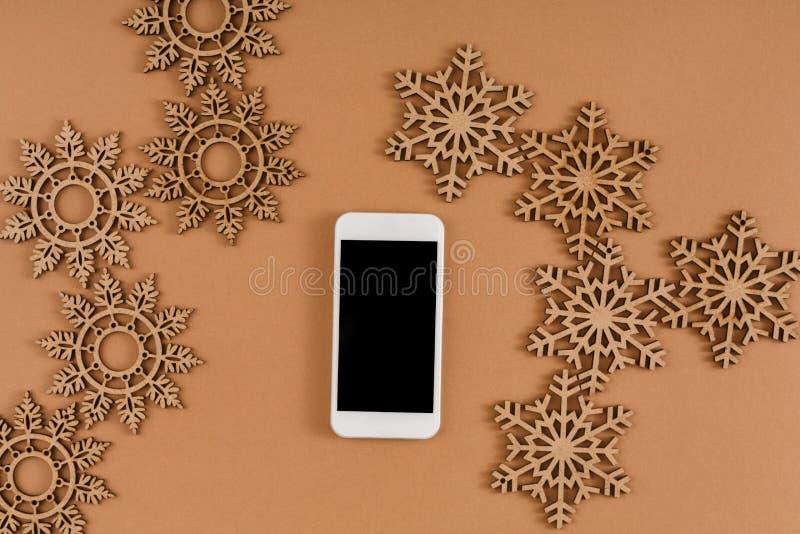 De achtergrond van de Kerstmisvoorbereiding stock foto