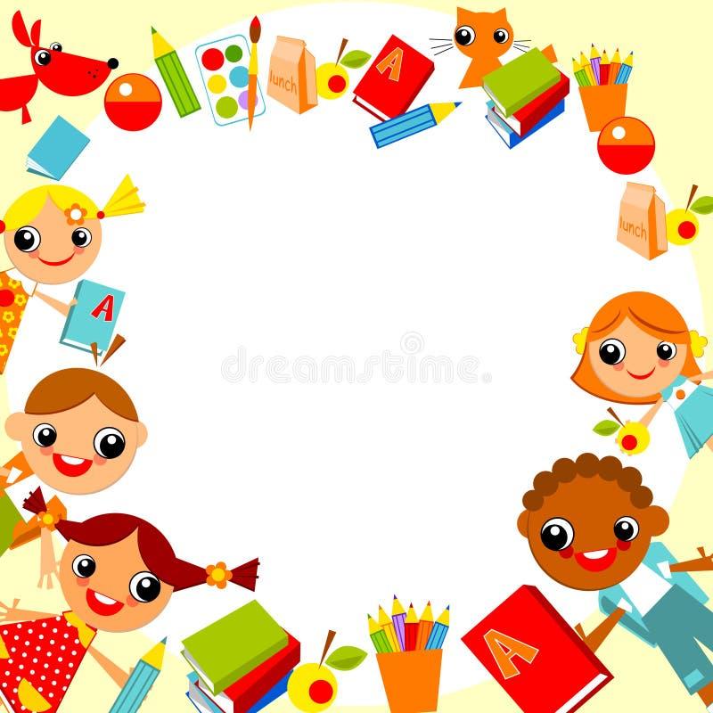 De achtergrond van kinderen vector illustratie