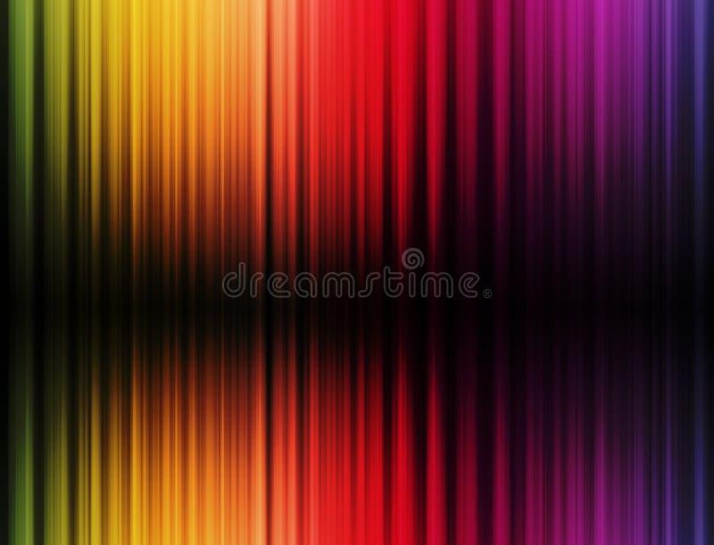 De achtergrond van kleuren vector illustratie