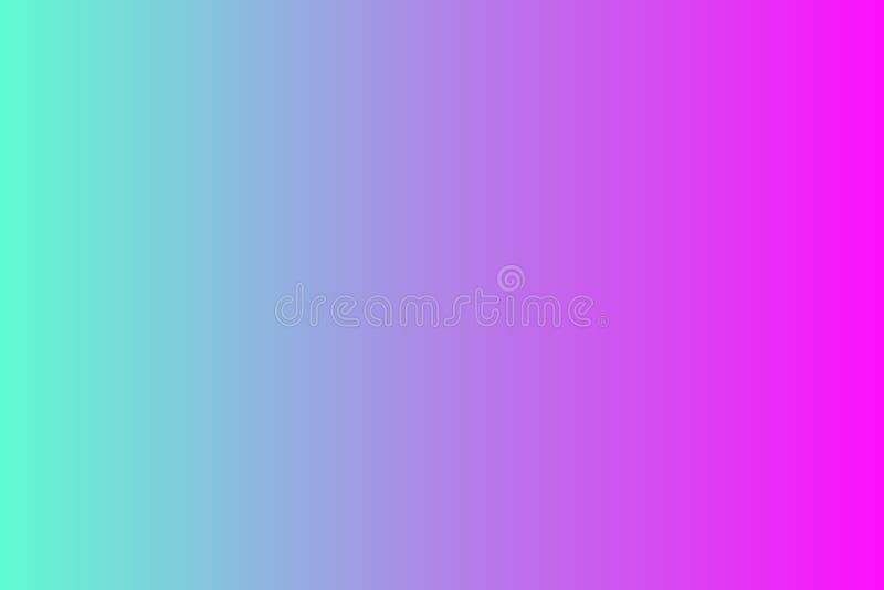 De achtergrond van de kleurengradiënt met heldere kleuren Ontwerp Veelkleurige samenvatting vage gradiëntdefocus als achtergrond stock illustratie