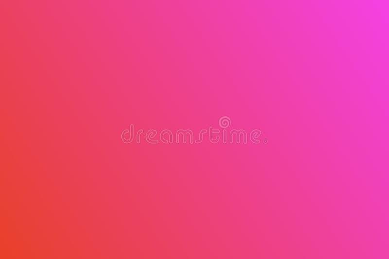 De achtergrond van de kleurengradiënt met heldere kleuren Ontwerp Veelkleurige samenvatting vage gradiëntdefocus als achtergrond vector illustratie