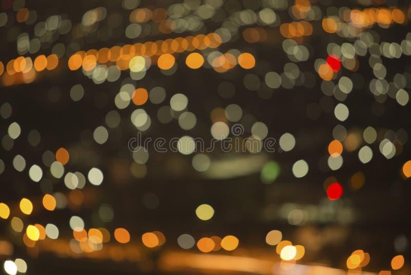 De achtergrond van kleurenlichten stock illustratie