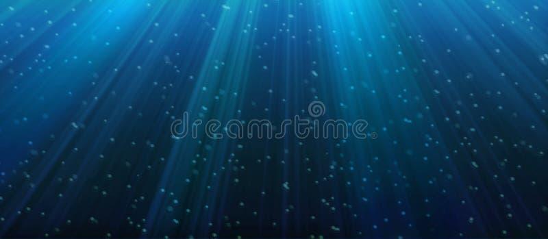 De Achtergrond van kosmische stralen stock illustratie