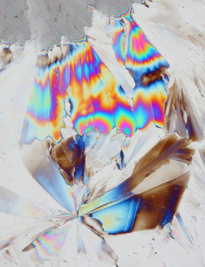 De Achtergrond van kristallen royalty-vrije stock afbeeldingen