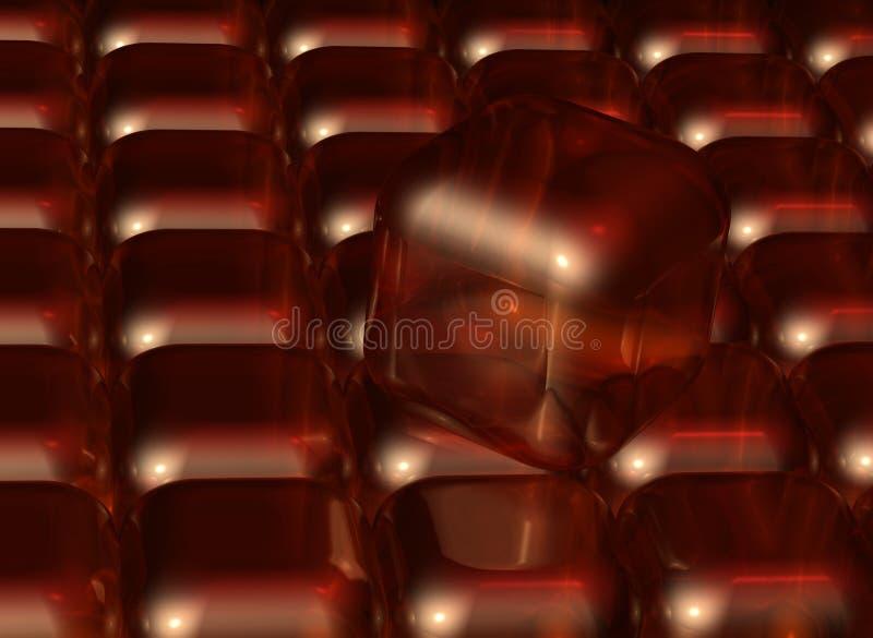 De achtergrond van kubussen vector illustratie