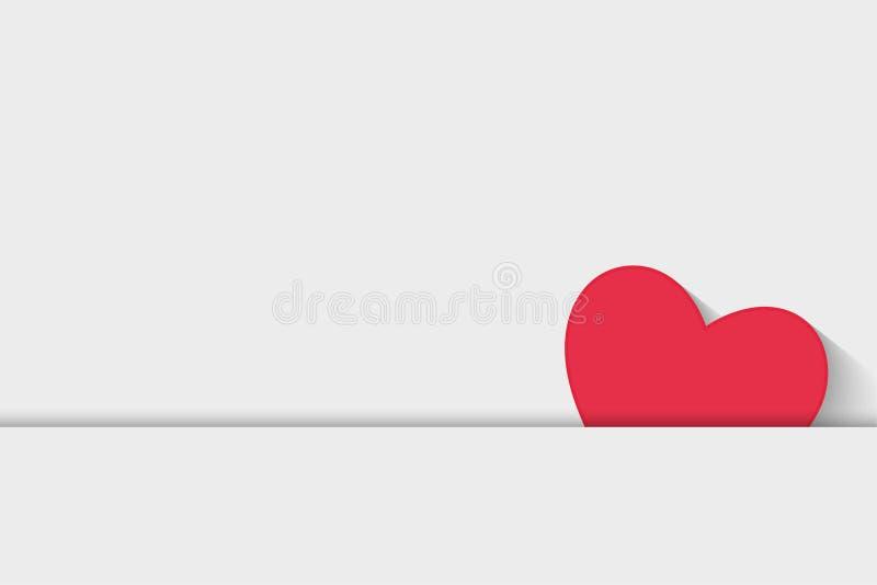 De achtergrond van de liefdebrief, uitnodigingspaar, illustratiedocument royalty-vrije illustratie