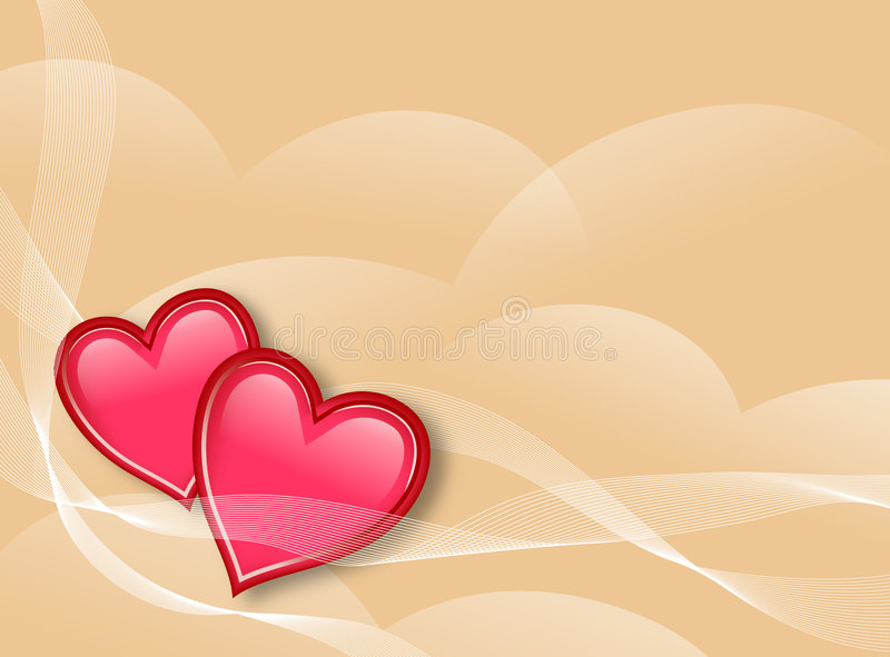 De Achtergrond van liefdes vector illustratie