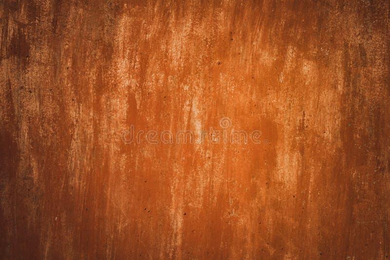 De Achtergrond van de metaalroest, oude de roesttextuur van het metaalijzer, roest op de oppervlakte stock foto