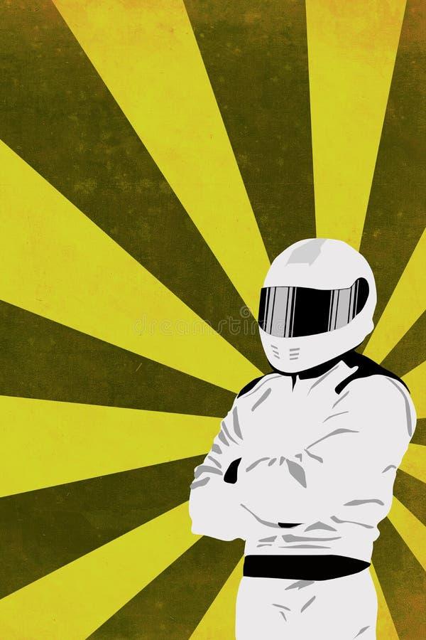 De achtergrond van Motorsport royalty-vrije illustratie