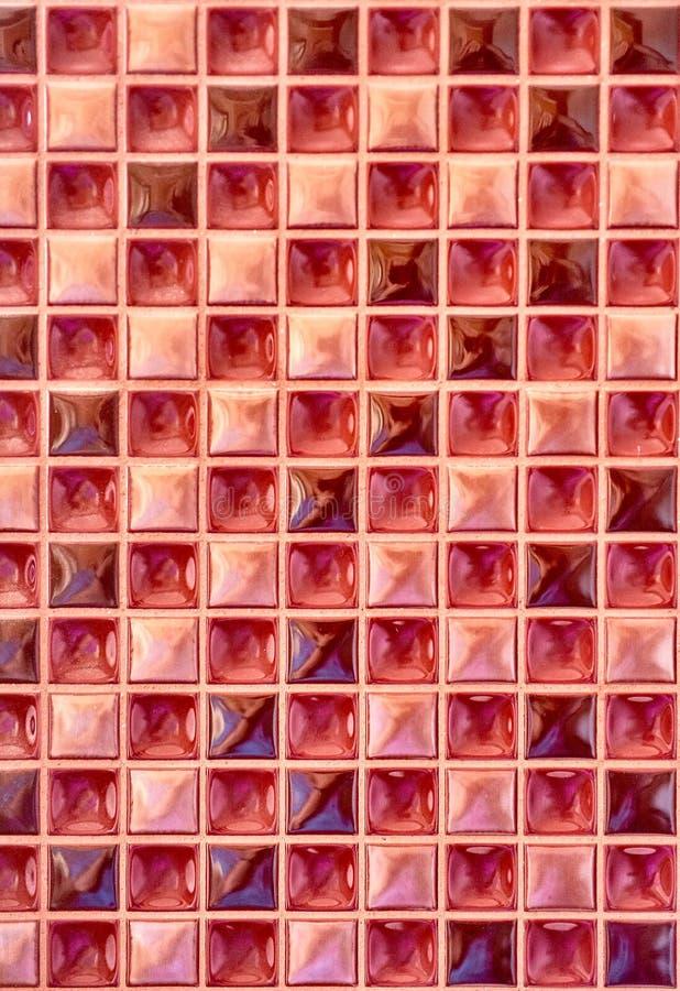 De achtergrond van de mozaïektegel stock foto's