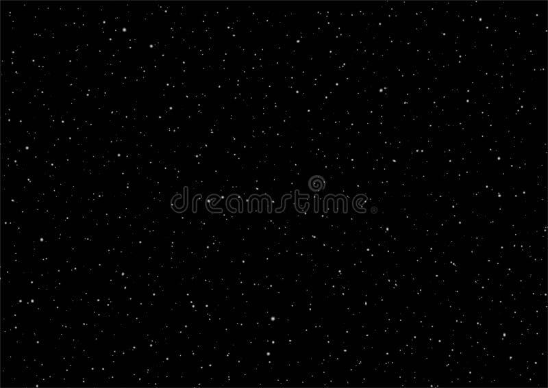 De achtergrond van de de nachthemel van Nice vector illustratie
