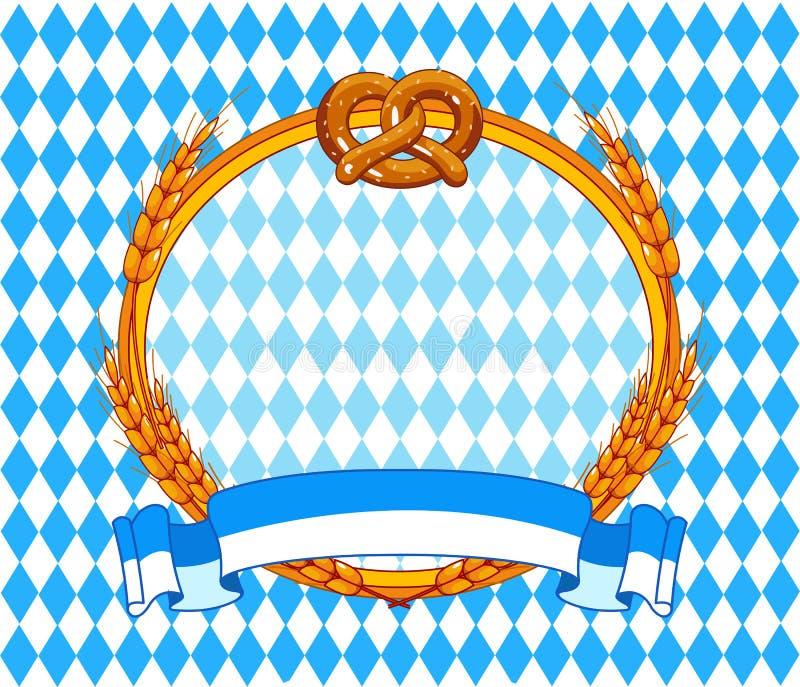 De achtergrond van Oktoberfest stock illustratie