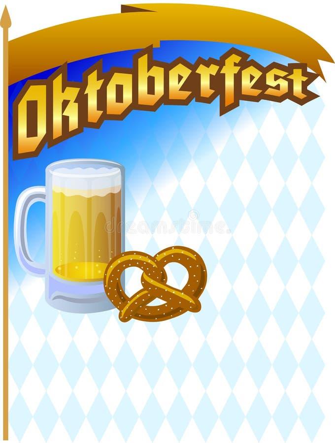 De Achtergrond van Oktoberfest royalty-vrije illustratie