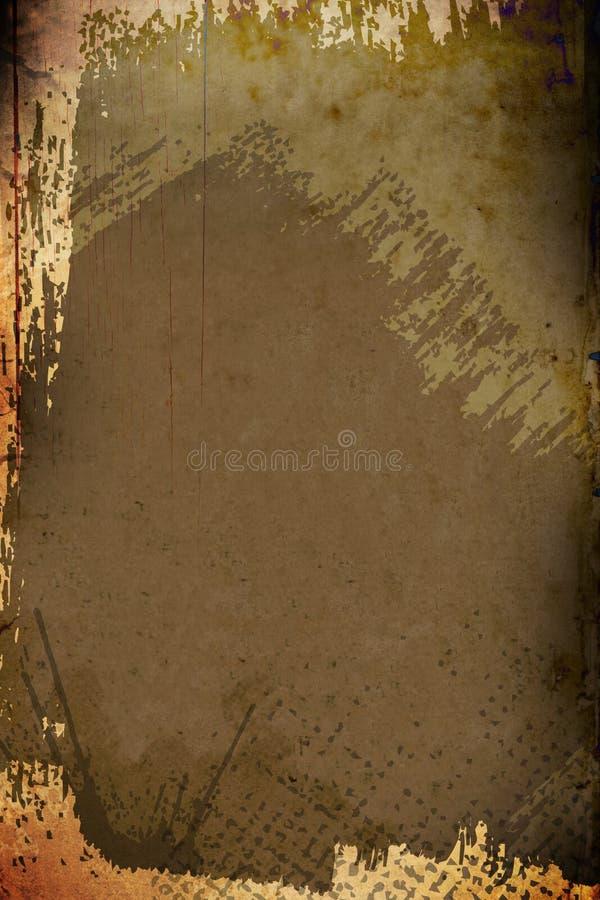De Achtergrond van Painterly van Grunge