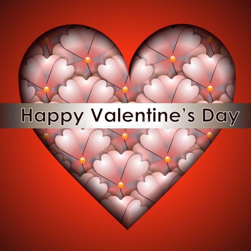Download De Achtergrond Van De Papercutkleur Multilageneffect Textuur Vector Illustratie - Illustratie bestaande uit liefde, decoratie: 107702855